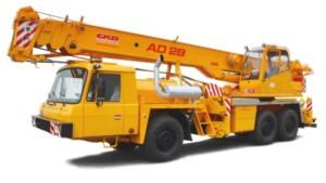 Autojeřáb AD28